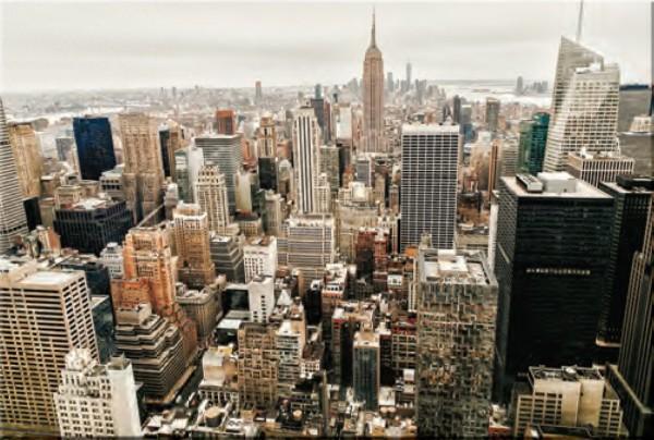 Glasbild NEW YORK 1