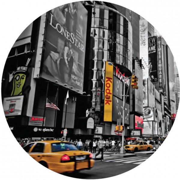 Glasbild, rund NEW YORK 4