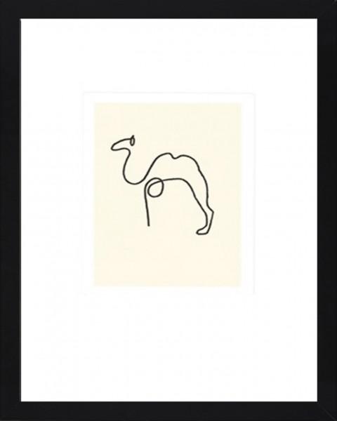 Picasso-Kunstdruck KAMEL