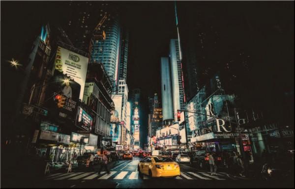 Glasbild NEW YORK 2