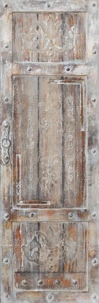 Wandbild TOR RECHTS, handgemalt, in Acrylfarben