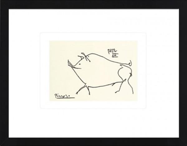 Picasso-Kunstdruck SCHWEIN